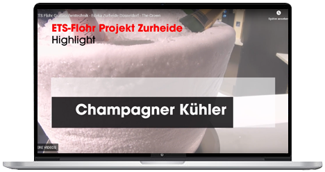 Video Champager Kühler